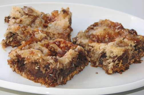 Basic Seven-Layer Bars Recipe — Dishmaps